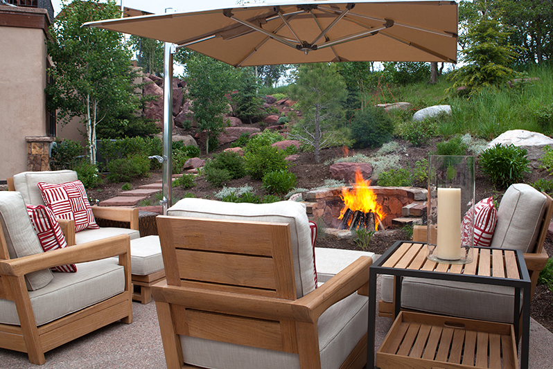 Weiss U0026 Wirth Interior Design Aspen Outdoors   Exterior Spaces | Weiss And  Wirth